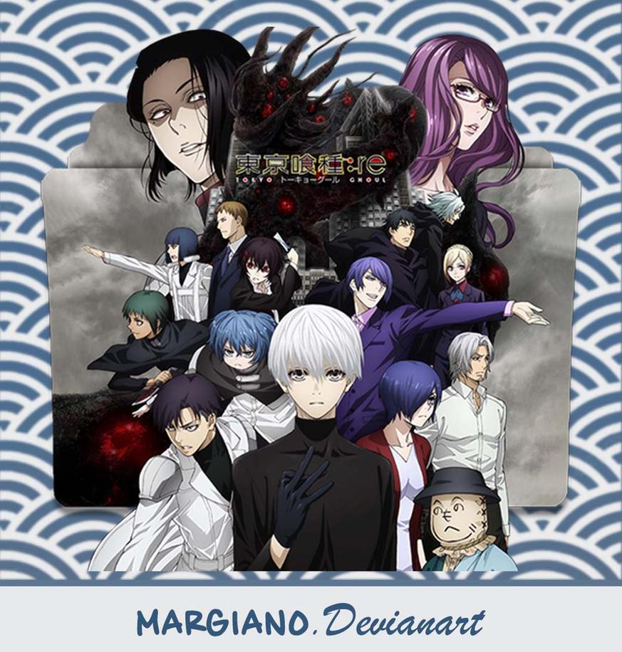 Tokyo Ghoul Re Season 2 Folder Icon By Margiano On Deviantart