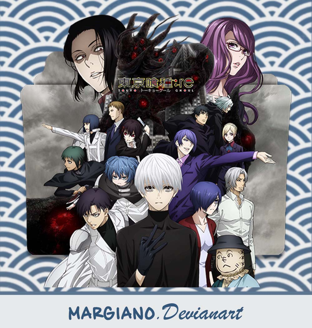 Tokyo Ghoul:re Season 2 Folder Icon By Margiano On DeviantArt