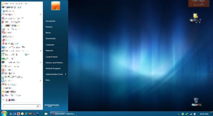 Windows7 Build 7068 Basic Blue by LLiamGarner