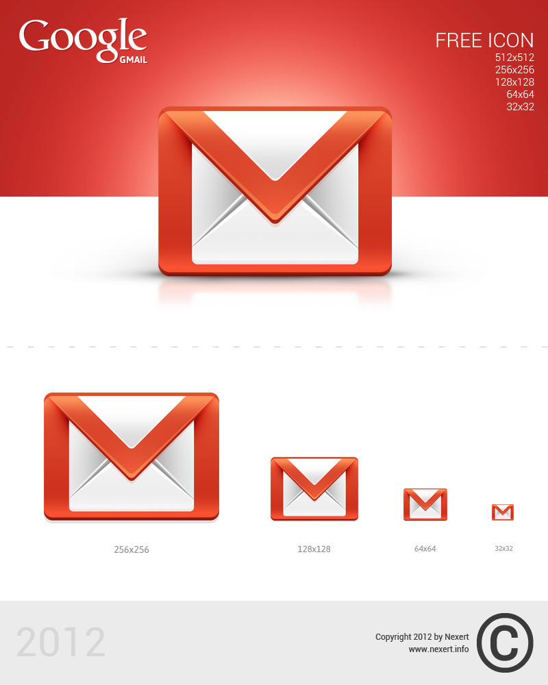 Gmail Icon by Nexert