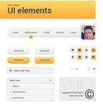 Very clean UI elements