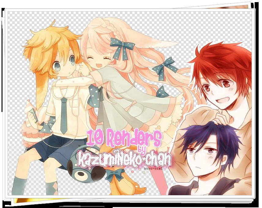 10 Renders by kazumiNeko-chan by kazumiNeko-chan