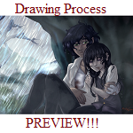 Rain (The Mists) GIF Drawing Process! by AlexandeNight