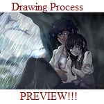 Rain (The Mists) GIF Drawing Process!