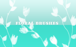 Floral brushes 03 by So-ghislaine