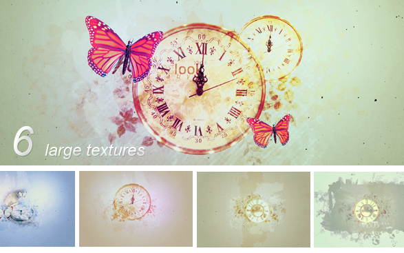 Textures - Clocks by So-ghislaine