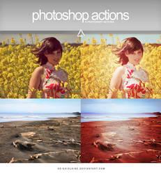 Actions - Summer Sun by So-ghislaine
