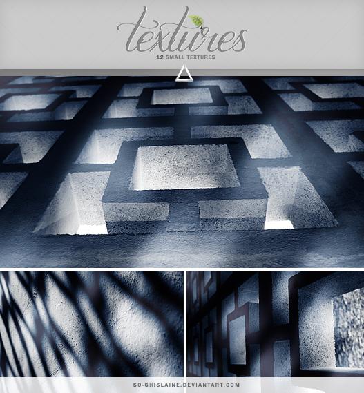 Textures - Dark blue by So-ghislaine
