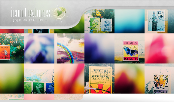 Icon Textures - Colorful Grunge by So-ghislaine