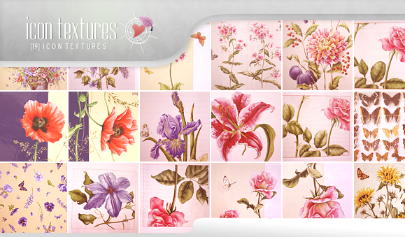 Icon Textures - Floral by So-ghislaine