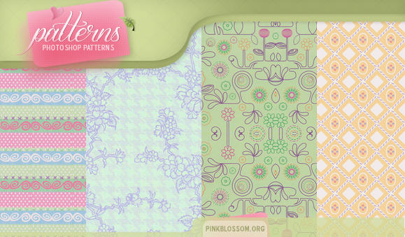 Patterns - graceful by So-ghislaine
