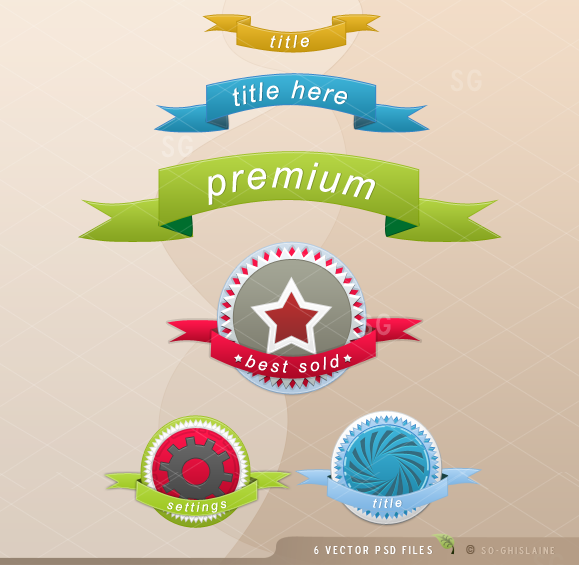PSD files - Web one