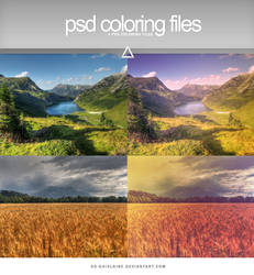 PSD - Relaxing Colors