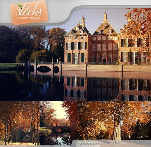 Stocks - Autumn Castle by So-ghislaine