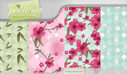 Patterns - Pink Blossom