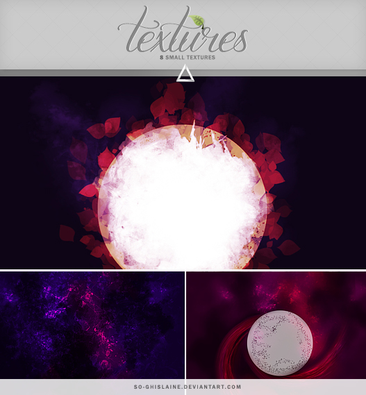 Textures - Space by So-ghislaine