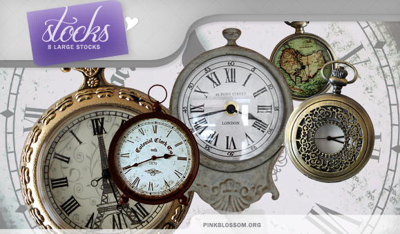 Stocks - Clocks by So-ghislaine