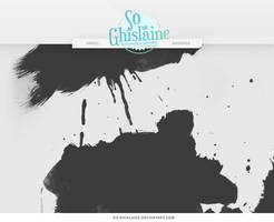 Brushes - Paint Splashes by So-ghislaine