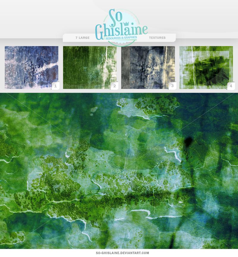 Textures - Green Grunge