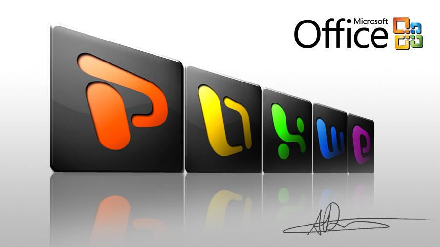 CS4 Icons - Office - Dark