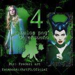 Png's Maleficent FREDOK ART