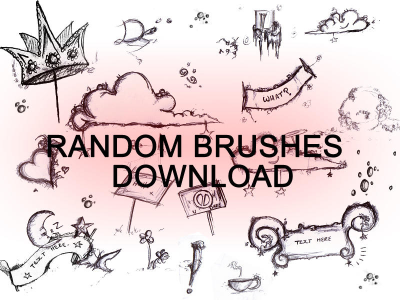 RANDOM BRUSHES by dweddle
