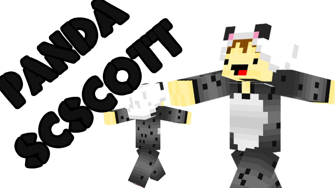 minecraft boy skins panda scscott by scscott on deviantart