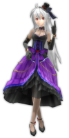.:DT Gothic Purple Haku DL:.