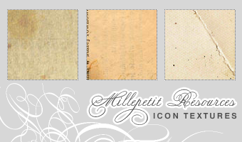 MP: Old Paper Icon Textures 3 by millepetit