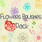 Flowers Brushes Pack'