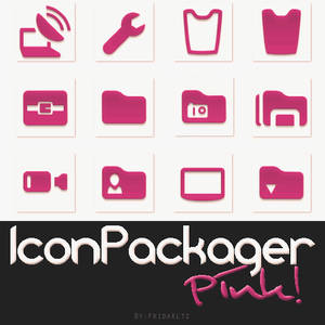 IconPackager Pink