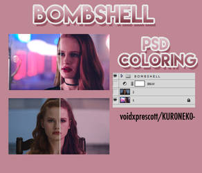 BOMBSHELL [PSD COLORING]