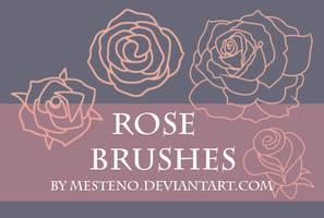 Rose Stamp Brushes