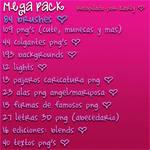 Mega Pack de Recursos PNG