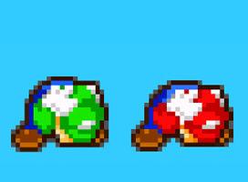 9-Bit's MLSS Mario Bros Preview 1 Crouching
