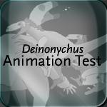 Deinonychus Animation Test by shibito2501