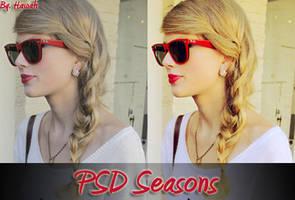 PSD Seasons by Hiyya91