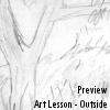 Art Lesson - Outside by JonathanEx