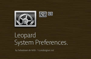 Leopard System Preferences by send