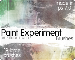 Paint Experiment Brushes by austin-outloud