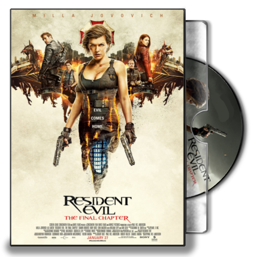 Resident Evil - The Final Chapter Folder Icon Case by