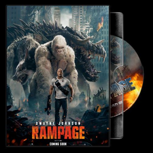 Rampage 2018 Folder Icon Movie Case By Marronecavalcante On