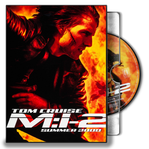 Mission Impossible 2 2000 Folder Icon Dvd Case By Marronecavalcante On Deviantart