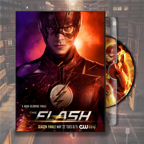 The Flash - Season 4 (2017) Folder Icon DVD by