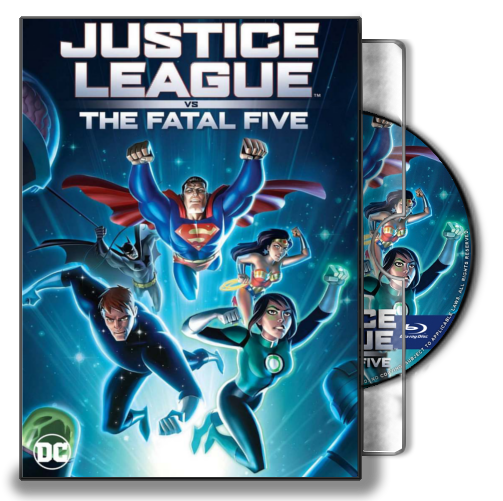 Justice League Vs The Fatal Five 2019 Folder Ico By Marronecavalcante On Deviantart