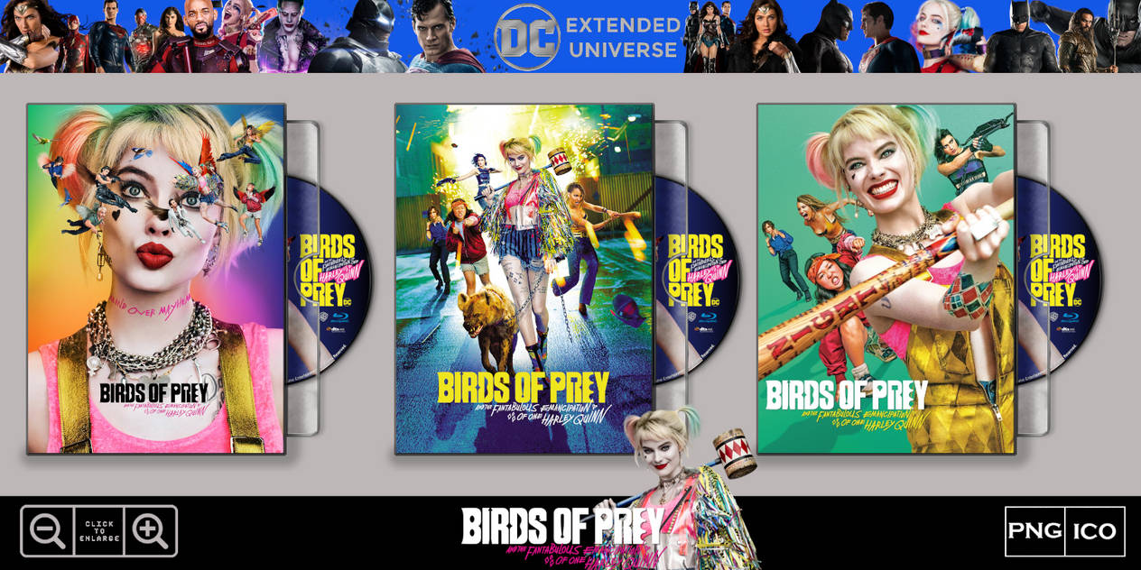 Birds Of Prey 2020 Folder Icon Case Pack By Marronecavalcante On Deviantart