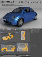 C4D VW Beetle Tutorial by 3d-tutorials