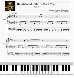 Bloodstained - The Brilliant Void (Stage 3) Sheet