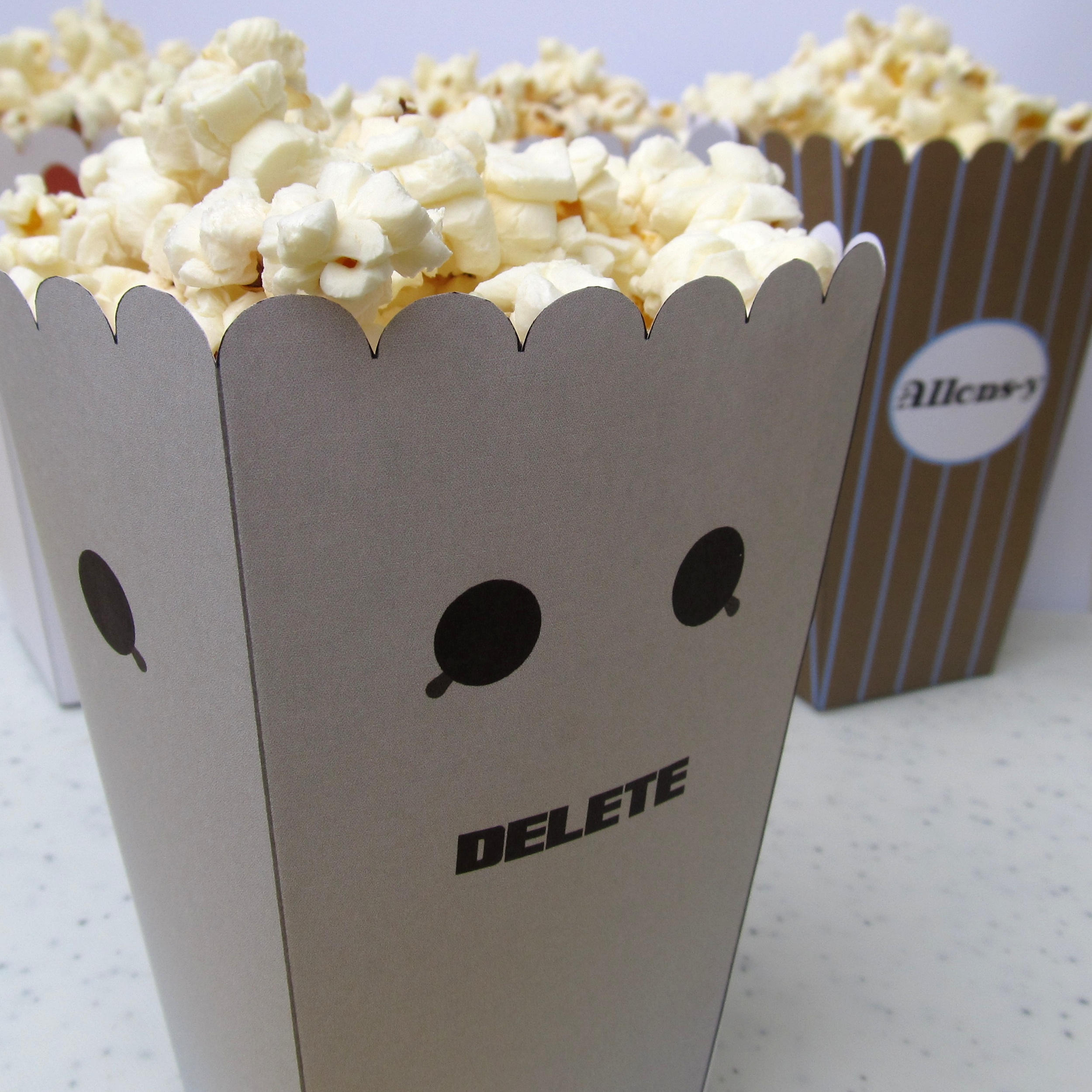 Cybermen Popcorn Holder by F-A