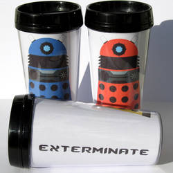 Dalek Thermal Mug by F-A